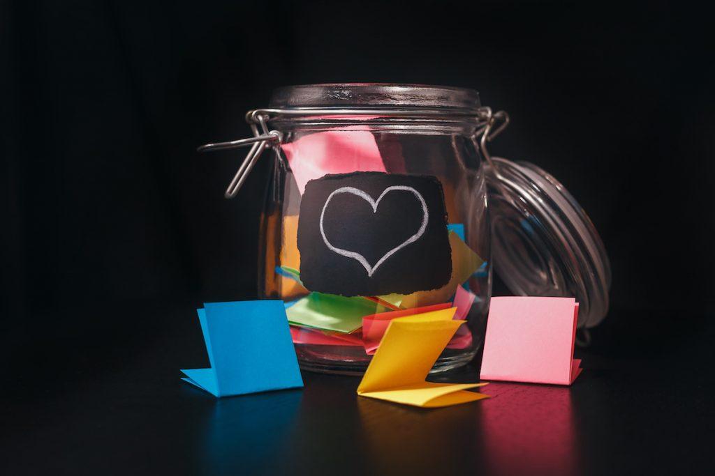 creating a gratitude jar
