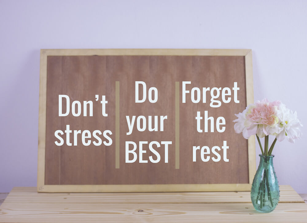 Are you doing your best